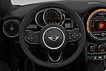 Car pictures of steering wheel view of a 2019 MINI Convertible Cooper-Signature 2 Door Convertible Steering Wheel