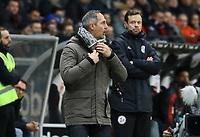 Trainer Adi Hütter (Eintracht Frankfurt) - 22.12.2018: Eintracht Frankfurt vs. FC Bayern München, Commerzbank Arena, DISCLAIMER: DFL regulations prohibit any use of photographs as image sequences and/or quasi-video.