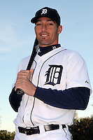 Feb 21, 2009; Lakeland, FL, USA; The Detroit Tigers catcher Dusty Ryan (55) during photoday at Tigertown. Mandatory Credit: Tomasso De Rosa/ Four Seam Images