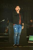 SÃO PAULO,SP, 14.07.2017 - SHOW-SP - O cantor Xandy da banda Aviões durante apresentação no Arraial Junina do Villa Country no bairro da Barra Funda em São Paulo nesta quinta-feira, 14. (Foto: Eduardo Martins/Brazil Photo Press)