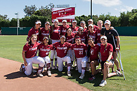 STANFORD, CA -- April 15, 2018. <br /> The Stanford Cardinal women's softball team loses to the Oregon State Beavers at the Smith Family Stadium 12-1.