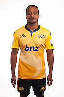 Reynardo Lee-Lo. Hurricanes Super Rugby official headshots at Rugby League Park, Wellington, New Zealand on Tuesday, 13 January 2015. Photo: Dave Lintott / lintottphoto.co.nz