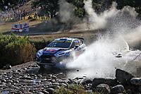 4th June 2021; Alghero, Sardinia; WRC rally of Italia Sardinia, stages  1-8;  A Fourmaux-Ford Fiesta WRC 2