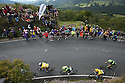 11/09/15<br /> <br /> Some of the early riders to make it up Millstone Edge, the first big climb of the day near Hathersage in the Derbyshire Peak District, on the 6th stage of Tour of Britain which today sees riders take on a 192 mile route from Stoke-on-Trent to Nottingham.<br /> <br /> All Rights Reserved: F Stop Press Ltd. +44(0)1335 418365   www.fstoppress.com.