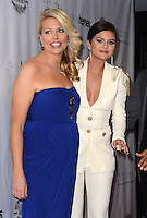 LOS ANGELES, CA, USA - NOVEMBER 08: Erica Greve, Selena Gomez arrive at the Unlikely Heroes' 3rd Annual Awards Dinner And Gala held at the Sofitel Hotel on November 8, 2014 in Los Angeles, California, United States. (Photo by Celebrity Monitor)