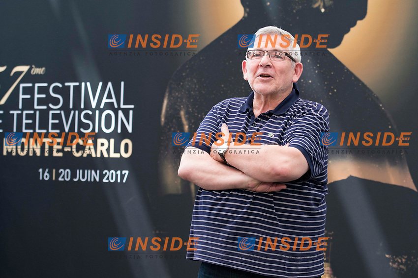 Yves Pignot (En famille) Monaco - 17/06/2017<br /> 57 festival TV Monte Carlo <br /> Foto Norbert Scanella / Panoramic / Insidefoto