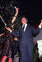 File Photo - RCM Leader Jean Doe get elected as Mayor of Montreal, November 9, 1986.<br /> <br /> Dore has been told he as a terminal pancreas cancer and 3 weeks to live , this September 2014.<br /> <br /> File Photo : Agence Quebec Pressse  - Pierre Roussel
