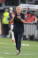 26th September 2021;  Stadio Olimpico, Rome, Italy; Italian Serie A football, SS Lazio versus AS Roma; Jose Mourinho coach of As Roma