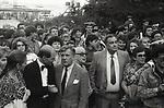 "Participants of Odessa film festival ""Golden Duke"", 1988. Odessa. USSR. / Участники одесского кинофестиваля ""Золотой Дюк"", 1988 год."
