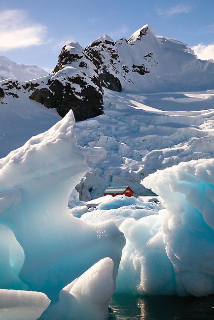 Paradise Bay in Antarctica.