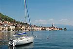 Italy, Lombardia, Lake Garda, Salo: biggest town on the West Bank of Lake Garda   Italien, Lombardei, Gardasee, Salo: groesste Stadt am Westufer des Gardasees