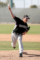 Tyler Trice, Colorado Rockies 2010 minor league spring training..Photo by:  Bill Mitchell/Four Seam Images.