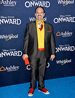 "LOS ANGELES, CA: 18, 2020: Mel Rodriguez at the world premiere of ""Onward"" at the El Capitan Theatre.<br /> Picture: Paul Smith/Featureflash"