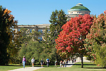 Fall colors bloom on central campus of Iowa State University in Ames, Iowa. (Christopher Gannon/Gannon Visuals)