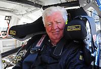 Feb 07, 2009; Daytona Beach, FL, USA; NASCAR Sprint Cup Series driver James Hylton during practice for the Daytona 500 at Daytona International Speedway. Mandatory Credit: Mark J. Rebilas-
