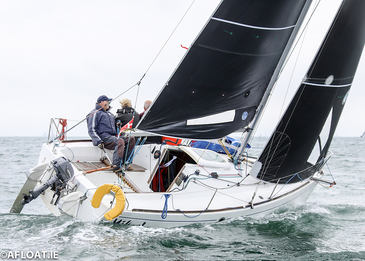 Peter Carroll's 'Yikes' Leads Beneteau 211 National Championships at the Royal Irish Yacht Club