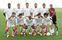 Tunisia starting XI. Saudi Arabia and Tunisia played to a 2-2 tie in their FIFA World Cup Group H match at FIFA World Cup Stadium, Munich, Germany, June 14, 2006.
