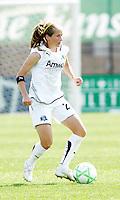 Manya Mokaski,..Saint Louis Athletica and LA Sol, played to a 0-0 tie at Robert Hermann Stadium in St Louis, MO. April 25 2009.