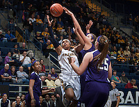 Brittany Boyd of California shoots the ball during the game against Northwestern at Haas Pavilion in Berkeley, California on November 24th, 2013.  California defeated Northwestern, 65-51.