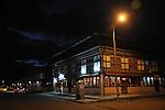 Paro market place at night. Arindam Mukherjee..