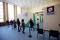 Vaccine Center of Stazione Marittima in Naples