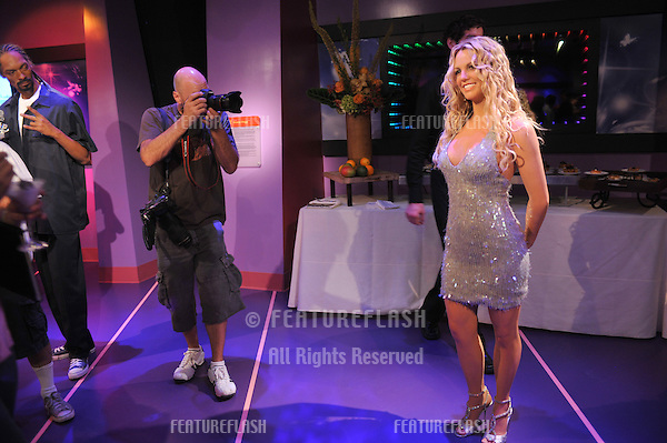 Britney Spears waxwork figure - grand opening of Madame Tussauds Hollywood. The new $55 million attraction is the first ever Madame Tussauds in the world to be built from the ground up. It is located on Hollywood Boulevard immediately next to the world-famous Grauman's Chinese Theatre..July 21, 2009  Los Angeles, CA.Picture: Paul Smith / Featureflash