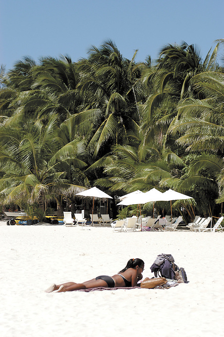 Beach scene, Boracay Island