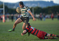 120811 Wellington Club Rugby - OBU v Poneke Hardham Cup Final
