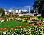 Oesterreich, Salzburger Land, Salzburg: Schloss Mirabell und Mirabellgarten   Austria, Salzburger Land, Salzburg: Palace Mirabell and Mirabell Garden