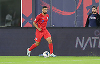 WASHINGTON, D.C. - OCTOBER 11: Sebastian Lletget #17 of the United States dribbles the ball during their Nations League game versus Cuba at Audi Field, on October 11, 2019 in Washington D.C.
