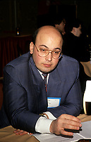 File Photo between 1991 and 1995 - Montreal, Quebec - Frank Zampino<br /> Sol Zanetti, chef OPTION NATIONALE<br /> , 3 avril 2014<br /> <br /> PHOTO :  Agence Quebec Presse <br /> <br /> <br /> <br />  Frank Zampino<br /> <br /> PHOTO :  Agence Quebec Presse