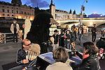 Welcome to Caveland ! La parade des taupes<br /> <br /> Mise en scène : Philippe Quesne<br /> Scénographie :<br /> Lumières :<br /> Musique :<br /> Costumes : Corine Petitpierre<br /> Création vidéo :<br /> Compagnie : Philippe Quesne - Nanterre Amandiers<br /> Cadre : Nuit Blanche 2016<br /> Date : 01/10/2016<br /> Lieu : Voies sur Berge<br /> Ville : Paris<br /> © Laurent Paillier / photosdedanse.com