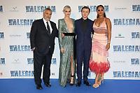 LUC BESSON, CARA DELEVINGNE, DANE DEHAAN, RIHANNA - AVANT-PREMIERE DU FILM 'VALERIAN ET LA CITE DES MILLES PLANETES' A LA CITE DU CINEMA, SAINT-DENIS, FRANCE, LE 25/07/2017.