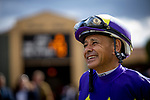 MAR 07: Mike Smith before the San Felipe Stakes at Santa Anita Park in Arcadia, California on March 7, 2020. Evers/Eclipse Sportswire/CSM