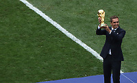 MOSCU - RUSIA, 15-07-2018: La Copa Mundo es vista previo al partido por la final entre Francia y Croacia de la Copa Mundial de la FIFA Rusia 2018 jugado en el estadio Luzhnikí en Moscú, Rusia. / the World Cup is seen prior the match between France and Croatia of the final for the FIFA World Cup Russia 2018 played at Luzhniki Stadium in Moscow, Russia. Photo: VizzorImage / Cristian Alvarez / Cont
