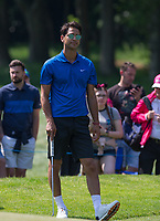 Luke Pasqualino (Actor / Skins) during the BMW PGA PRO-AM GOLF at Wentworth Drive, Virginia Water, England on 23 May 2018. Photo by Andy Rowland.