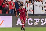Tarek Salman of Qatar in action during the AFC Asian Cup UAE 2019 Semi Finals match between Qatar (QAT) and United Arab Emirates (UAE) at Mohammed Bin Zaied Stadium  on 29 January 2019 in Abu Dhabi, United Arab Emirates. Photo by Marcio Rodrigo Machado / Power Sport Images