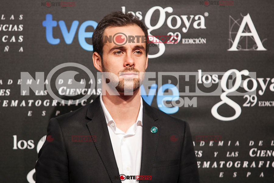 Curro de Lucia poses before the 2015 Goya Awards nominee ceremony in Madrid, Spain. January 19, 2015. (ALTERPHOTOS/Victor Blanco)
