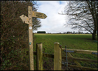 BNPS.co.uk (01202 558833)<br /> Pic: BNPS<br /> <br /> The estate was to be built in this field 200 yds form Wolfeton House<br /> <br /> Countryside campaigners are today celebrating after defeating controversial plans to build a housing estate next to a historic manor that inspired Thomas Hardy.<br /> <br /> Developers had hoped to build 89 new homes in the vicinity of Wolfeton House, which is indelibly linked to Hardy's 1886 novel The Mayor of Casterbridge.<br /> <br /> But officials at Dorset Council have rejected their planning application, to the relief of objectors including Historic England and the Thomas Hardy Society, who argued Hardy's idyllic setting would be 'ruined' by the development.