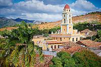 Iglesia y Convento de San Francisco (Museo Nacional de Lucha Contra Bandidos) in Trinidad, Cuba