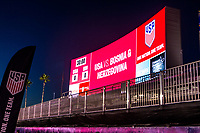 Carson, CA - Sunday January 28, 2018: StubHub Center U.S. Soccerr during an international friendly between the men's national teams of the United States (USA) and Bosnia and Herzegovina (BIH) at the StubHub Center.