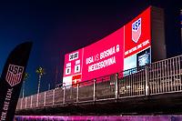 Carson, CA - Sunday January 28, 2018: StubHub Center U.S. Soccerr during an international friendly between the men's national teams of the United States (USA) and Bosnia and Herzegovina (BIH) at the StubHub Center.