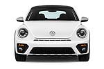 Car photography straight front view of a 2017 Volkswagen Beetle Dune 3 Door Hatchback Front View