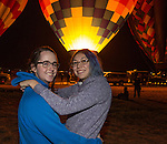 Ellie and Vivianne at the Great Reno Balloon Races held on Saturday, Sept. 10, 2016.