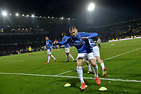 Mauro Icardi of Internazionale warms up prior to the Serie A 2018/2019 football match between Frosinone and FC Internazionale at stadio Benito Stirpe, Frosinone, April 14, 2019 <br /> Photo Andrea Staccioli / Insidefoto