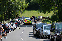 SURREY, ENGLAND. 25.05.2020<br /> .<br /> Heavy traffic during the bank holiday Monday Covid-19 lockdown with government guidelines to social distance at OUSE RIVER VALLEY VIADUCT, England at  on 25 May 2020. Photo by Alan Stanford.