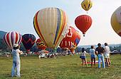 Hot-Air balloon launch
