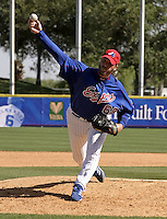 April 1, 2004:  Rocky Biddle of the Montreal Expos (Washington Nationals) organization during Spring Training at Space Coast Stadium in Melbourne, FL.  Photo copyright Mike Janes/Four Seam Images