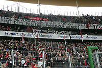 Fans von Eintracht Frankfurt protestieren erneut gegen Stadionverbote und hoffen auf das Positionspapier