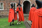 OLD LADIES OF CASTLE RISING NORFOLK UK